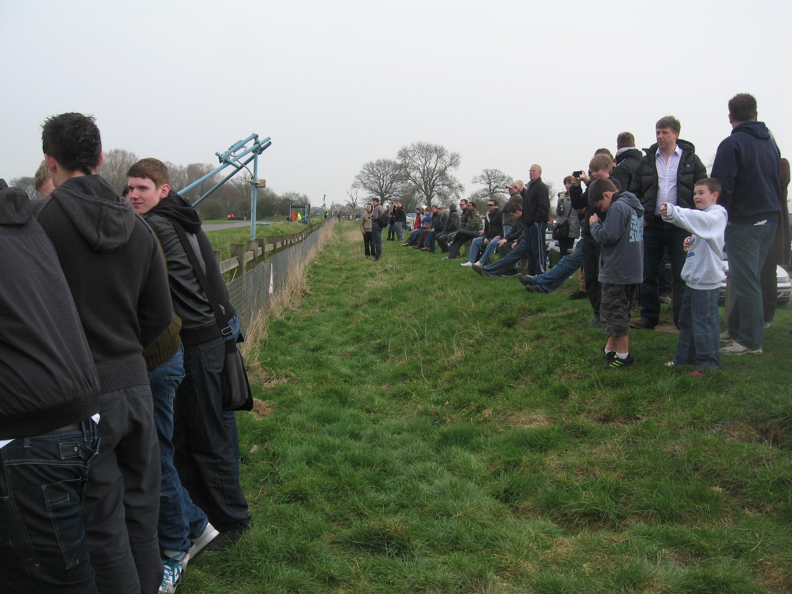 Curborough spectators