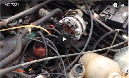 Renault 4 engine