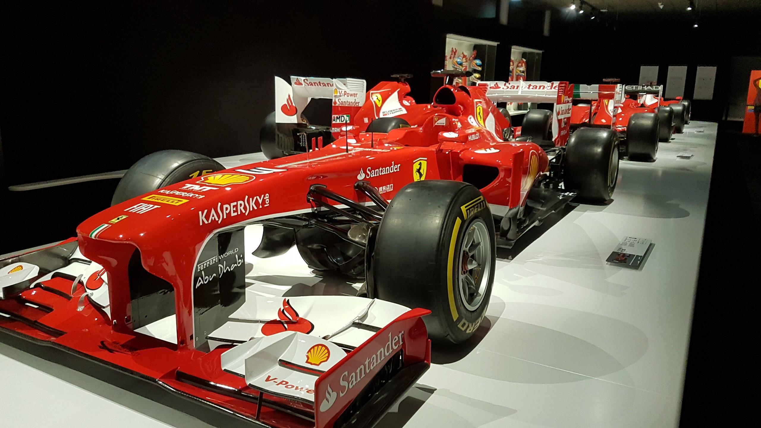 Alonso's Ferrari in Museum