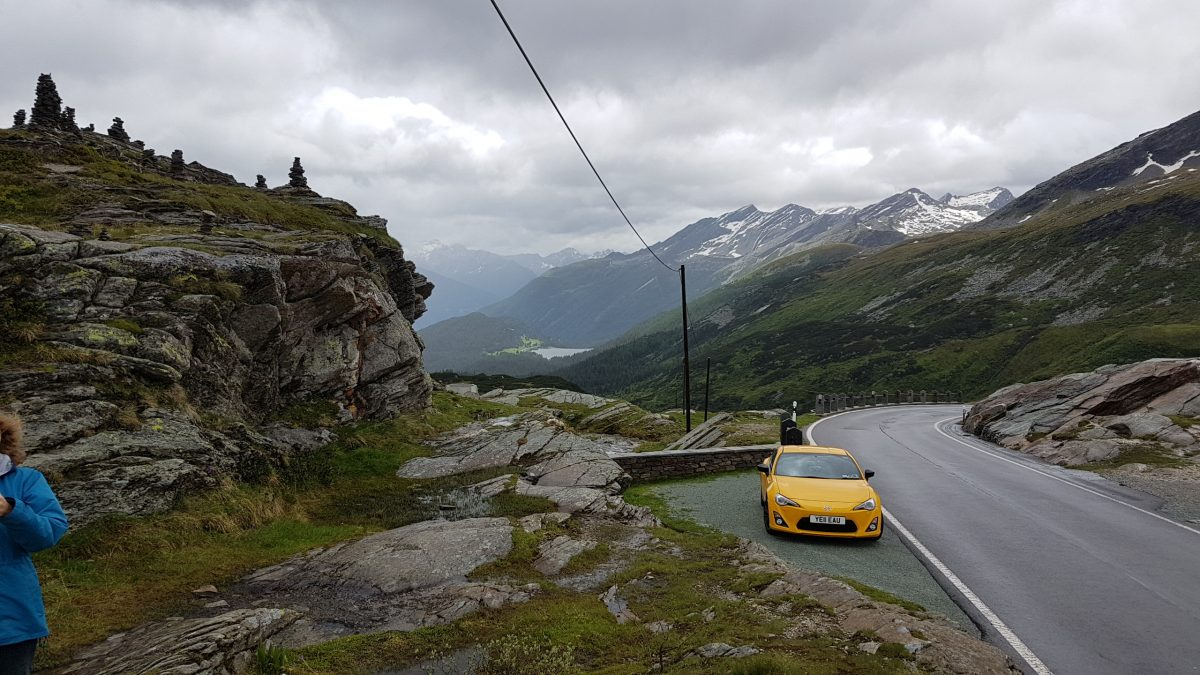 GT86 in the Alps